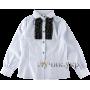 (72466) [р. 122] Блузка нарядная для девочки ШКОЛЬНАЯ КОЛЛЕКЦИЯ. ZIRONKA 3540-2. Белый. Поплин