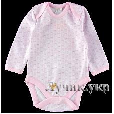 (87976) [р. 86] Боди-футболка для малышей. BEMBI БД58а/1. Розовый Рисунок. Интерлок