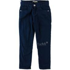 (115385) [р. 170] Брюки для мальчика на флисе. TONI WANHILL 3029. Темно-Синий. Коттон/Флис
