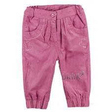 (85036) [р. 68] Брючки для девочки Premium Collection . BEMBI ШР356. Розовый1. Микровельвет