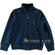(94190) [р. 164] Кофта спортивная для мальчика. DIMAX Р-721. Темно-Синий. Трикотаж
