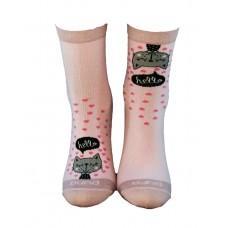 (325305) [р. 18 - 20] Носки для девочки. DUNA 4265. Розовый. Хлопок