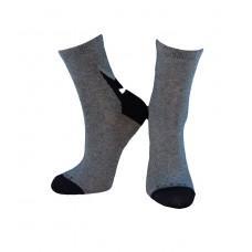 (325289) [р. 20 - 22] Носки для мальчика. DUNA 9046. Серый. Хлопок