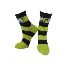 (325450) [р. 14 - 16] Носки для мальчика. ЛЕГКА ХОДА 9226. Черный/Желтый. Хлопок