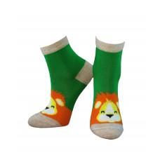 (325452) [р. 14 - 16] Носки для мальчика. ЛЕГКА ХОДА 9261. Зеленый. Хлопок