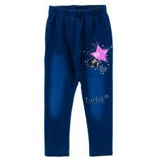 (129913) [р. 98] Леггинсы для девочки (джинсовый трикотаж). SINCERE LL-2621. Джинс. Джинсовый Трикотаж