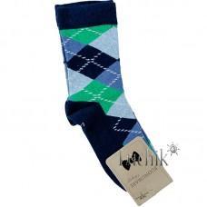 (324102) [р. 7 years (стопа 19 - 19.5)] Носки для мальчика. UCS M0C0101-2072. Темно-Синий. Хлопок