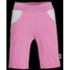 (69863) [р. 56] Штанишки трикотажные для девочки РОЗОЧКИ. ZIRONKA 447-138. Розовый. Интерлок