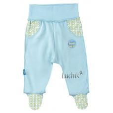 (71274) [р. 62] Ползунки-штанишки трикотажные для мальчика ИГРУШКИ. SMIL 107164. Голубой. Интерлок