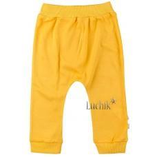(119590) [р. 68] Штанишки трикотажные для малышей. VEO BABY 13601. Желтый. Интерлок