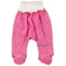 (128801) [р. 62] Ползунки-штанишки для девочки. BABY CITY 1331/1. Розовый. Интерлок