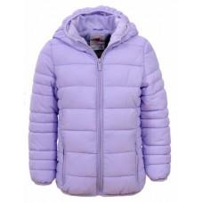 (102836) [р. 104 - 110] Куртка для девочки. GLO-STORY GMA-4634. Светло-Сиреневый. Плащевка