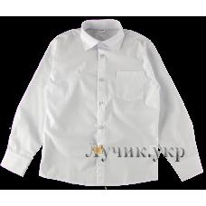 (91280) [р. 164] Рубашка для мальчика. BEBEPA 1106-136. Белый1. Рубашечная Ткань