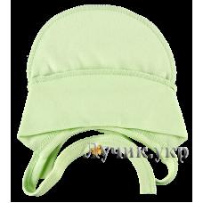 (101939) [р. 37 см] Чепчик трикотажный детский. ЛЯ-ЛЯ 13А14. Светло-Зеленый. Интерлок