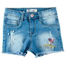 (121818) [р. 152] Шорты джинсовые для девочки. F&D DY-1071. Джинс. Джинс