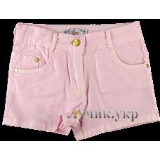 (106752) [р. 128 - 134] Шорты котоновые для девочки . BEREN STYLE 4192. Розовый1. Котон